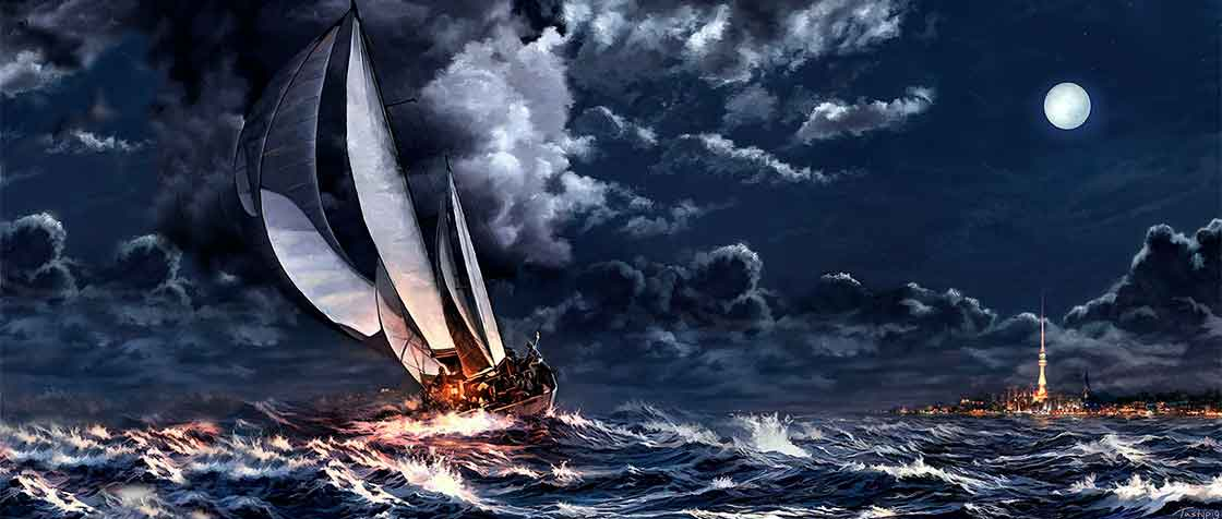 The Zion ship and its voyage